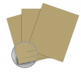Strathmore Premium Wove Golden Olive Card Stock - 26 x 40 in 100 lb Cover Wove 300 per Carton