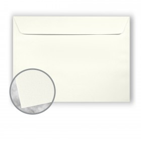 Strathmore Premium Wove Natural White Envelopes - No. 9 1/2 Booklet (9 x 12) 80 lb Text Wove  30% Recycled 500 per Carton