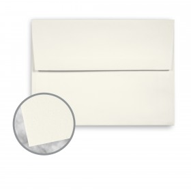 Strathmore Premium Wove Natural White Envelopes - A6 Square Flap (4 3/4 x 6 1/2) 80 lb Text Wove  30% Recycled 250 per Box