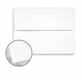 Strathmore Premium Wove Platinum White Envelopes - A7 Square Flap (5 1/4 x 7 1/4) 80 lb Text Wove 250 per Box