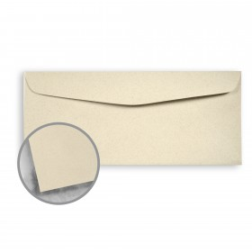 Strathmore Premium Wove Sand Stone Envelopes - No. 10 Commercial (4 1/8 x 9 1/2) 24 lb Writing Wove  30% Recycled Watermarked 500 per Box