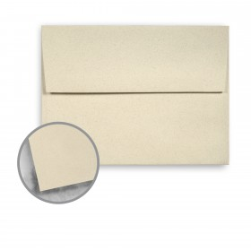 Strathmore Premium Wove Sand Stone Envelopes - A6 Square Flap (4 3/4 x 6 1/2) 70 lb Text Wove  30% Recycled 250 per Box