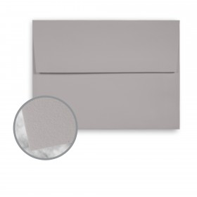 Strathmore Premium Wove Smoke Gray Envelopes - A6 Square Flap (4 3/4 x 6 1/2) 80 lb Text Wove  30% Recycled 250 per Box