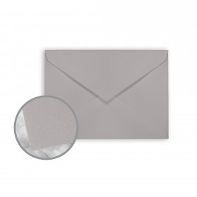 Strathmore Premium Wove Smoke Gray Envelopes - No. 4 Baronial (3 5/8 x 5 1/8) 80 lb Text Wove  30% Recycled 250 per Box