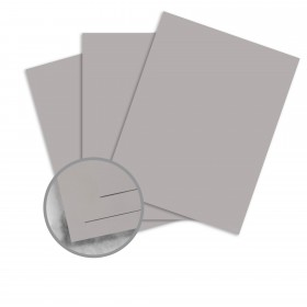 Strathmore Premium Wove Smoke Gray Card Stock - 26 x 40 in 100 lb Cover Wove  30% Recycled 300 per Carton