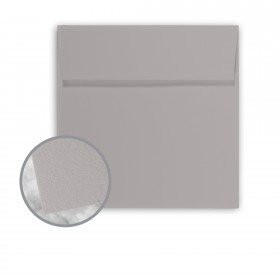 Strathmore Premium Wove Smoke Gray Envelopes - No. 5 1/2 Square (5 1/2 x 5 1/2) 80 lb Text Wove  30% Recycled 250 per Box