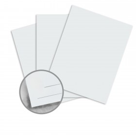Strathmore Premium Wove Soft Blue Card Stock - 26 x 40 in 80 lb Cover Wove  30% Recycled 500 per Carton