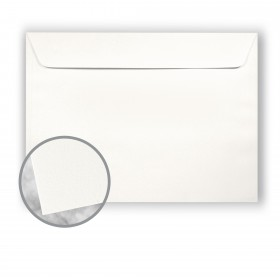 Strathmore Premium Wove Soft White Envelopes - No. 9 1/2 Booklet (9 x 12) 80 lb Text Wove  30% Recycled 500 per Carton