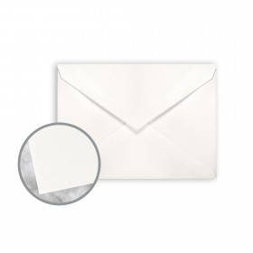 Strathmore Premium Wove Soft White Envelopes - No. 4 Baronial (3 5/8 x 5 1/8) 80 lb Text Wove  30% Recycled 250 per Box