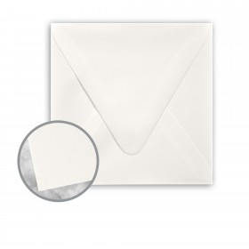 Strathmore Premium Wove Soft White Envelopes - No. 5 1/2 Square (5 1/2 x 5 1/2) 80 lb Text Wove  30% Recycled 250 per Box