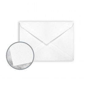 Strathmore Premium Wove Ultimate White Envelopes - No. 4 Baronial (3 5/8 x 5 1/8) 80 lb Text Wove 250 per Box