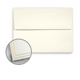Strathmore Script Natural White Envelopes - A6 (4 3/4 x 6 1/2) 70 lb Text Smooth  30% Recycled 250 per Box