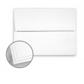 Strathmore Script Platinum White Envelopes - A2 (4 3/8 x 5 3/4) 70 lb Text Smooth 250 per Box