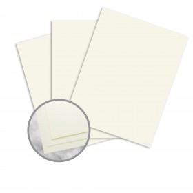 Strathmore Writing Ivory Paper - 8 1/2 x 11 in 24 lb Writing Laid  25% Cotton Watermarked 500 per Ream