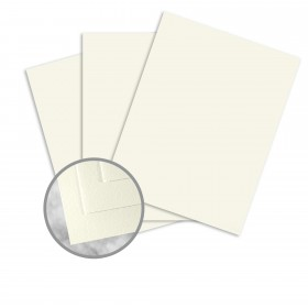 Strathmore Writing Ivory Paper - 35 x 23 in 24 lb Writing Wove  25% Cotton Watermarked 1500 per Carton