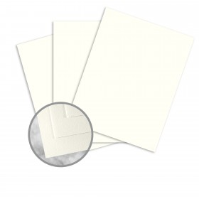 Strathmore Writing Natural White Paper - 38 x 25 in 24 lb Writing Wove  25% Cotton Watermarked 1000 per Carton