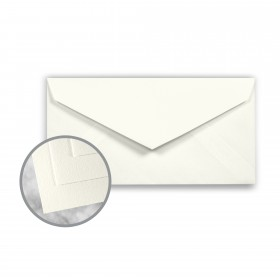 Strathmore Writing Natural White Envelopes - Monarch (3 7/8 x 7 1/2) 24 lb Writing Wove  25% Cotton Watermarked 500 per Box