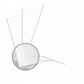 Strathmore Writing Platinum White Paper - 35 x 23 in 24 lb Writing Wove  25% Cotton Watermarked 1500 per Carton