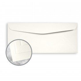 Strathmore Writing Soft White Envelopes - No. 10 Commercial (4 1/8 x 9 1/2) 80 lb Text Wove 500 per Box