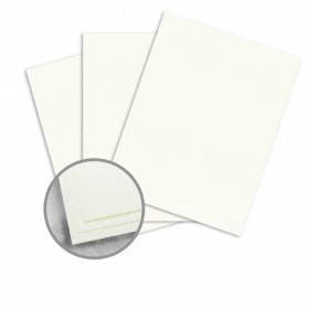 Strathmore Writing Soft White Paper - 8 1/2 x 11 in 88 lb Bristol Laid 125 per Package