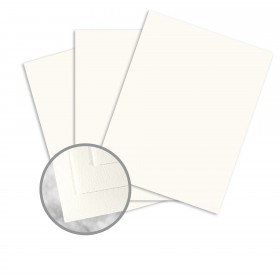 Strathmore Writing Soft White Paper - 8 1/2 x 11 in 88 lb Bristol Wove 125 per Package