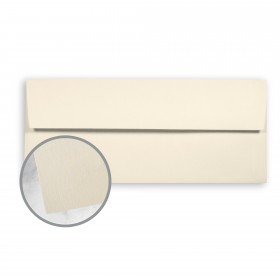 SuperFine Softwhite Envelopes - No. 10 Square Flap (4 1/8 x 9 1/2) 70 lb Text Eggshell 500 per Box