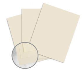 SuperFine Softwhite Card Stock - 14 1/3 x 26 in 120 lb Cover Eggshell 250 per Carton