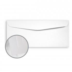 SuperFine Ultrawhite Envelopes - No. 10 Commercial (4 1/8 x 9 1/2) 24 lb Writing Eggshell 500 per Box