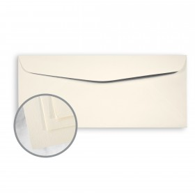 SuperFine White Envelopes - No. 10 Commercial (4 1/8 x 9 1/2) 24 lb Writing Eggshell 500 per Box