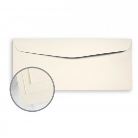 SuperFine White Envelopes - No. 10 Commercial (4 1/8 x 9 1/2) 24 lb Writing Smooth 500 per Box