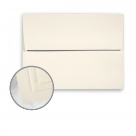 SuperFine White Envelopes - A7 (5 1/4 x 7 1/4) 80 lb Text Eggshell 250 per Box