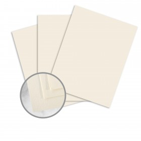 SuperFine White Card Stock - 8 1/2 x 11 in 80 lb Cover Eggshell 250 per Package