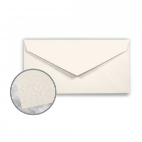 Teton Warm White Envelopes - Monarch (3 7/8 x 7 1/2) 80 lb Text Felt  100% Cotton 400 per Box