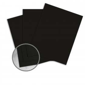 Tube Black Paper - 8 1/2 x 11 in 88 lb Text Soft Flat Matte C/2S 250 per Package