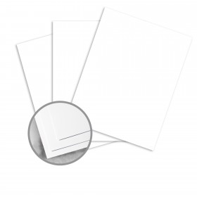 Utopia Two White Card Stock - 23 x 35 in 100 lb Cover Dull C/2S  10% Recycled 500 per Carton