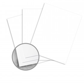 Utopia Two White Card Stock - 26 x 40 in 65 lb Cover Matte C/2S  10% Recycled 600 per Carton