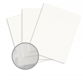 Via 25% Cotton Bright White Paper - 8 1/2 x 11 in 20 lb Writing Light Cockle  30% Recycled  25% Cotton Watermarked 500 per Ream