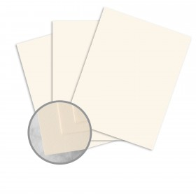 Via 25% Cotton Natural Paper - 35 x 23 in 24 lb Writing Smooth  30% Recycled  25% Cotton Watermarked 1500 per Carton
