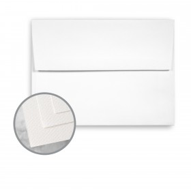 Via Felt Bright White Envelopes - A2 (4 3/8 x 5 3/4) 70 lb Text Felt  30% Recycled 250 per Box