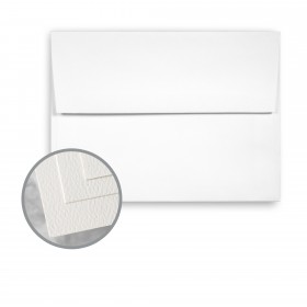 Via Felt Cool White Envelopes - A6 (4 3/4 x 6 1/2) 70 lb Text Felt  30% Recycled 250 per Box