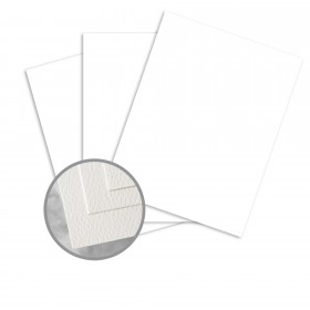 Via Felt Cool White Paper - 23 x 35 in 70 lb Text Felt  30% Recycled 1000 per Carton