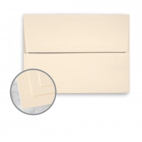 Via Felt Cream White Envelopes - A6 (4 3/4 x 6 1/2) 70 lb Text Felt  30% Recycled 250 per Box