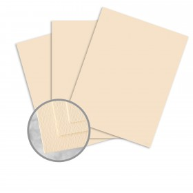 Via Felt Cream White Paper - 25 x 38 in 80 lb Text Felt  30% Recycled 1000 per Carton