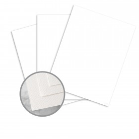 Via Felt Bright White Paper - 23 x 35 in 70 lb Text Felt  30% Recycled 1000 per Carton