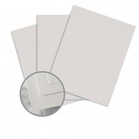 Via Felt Light Gray Card Stock - 26 x 40 in 100 lb Cover Felt  30% Recycled 300 per Carton