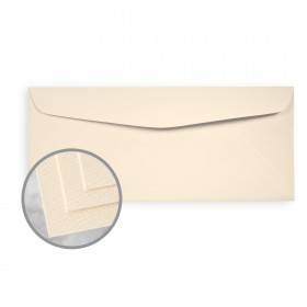Via Felt Natural Envelopes - No. 10 Commercial (4 1/8 x 9 1/2) 70 lb Text Felt  30% Recycled 500 per Box