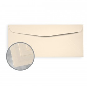 Via Laid Natural Envelopes - No. 10 Commercial (4 1/8 x 9 1/2) 24 lb Writing Laid  30% Recycled 500 per Box