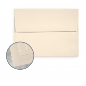 Via Laid Natural Envelopes - A6 (4 3/4 x 6 1/2) 70 lb Text Laid  30% Recycled 250 per Box
