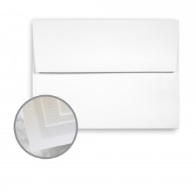 Via Laid Pure White Envelopes - A2 (4 3/8 x 5 3/4) 70 lb Text Laid 250 per Box
