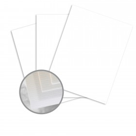 Via Laid Pure White Paper - 35 x 23 in 24 lb Writing Laid 1500 per Carton